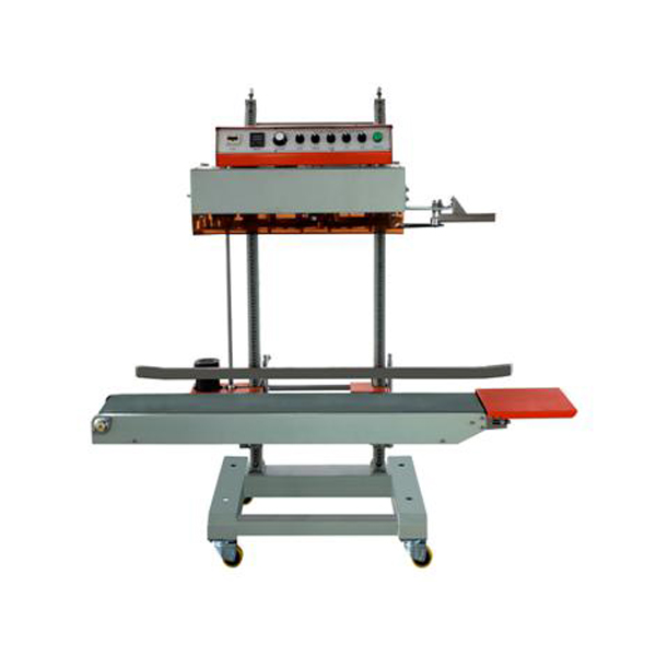 Continuous band sealer bag sealer machine with printer QLF-1680
