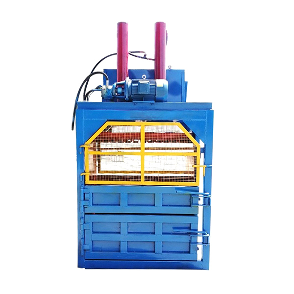 Best quality hydraulic waste paper bailing machine/ small garbage baling press machine price
