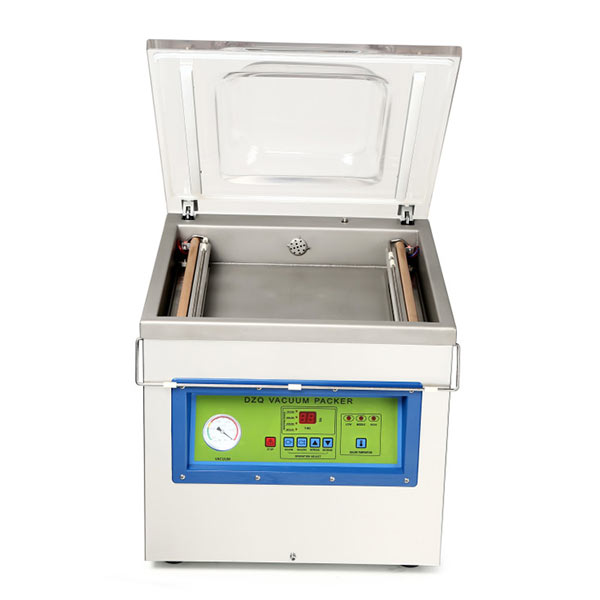 DZ400 single chamber meat vacuum packing machine