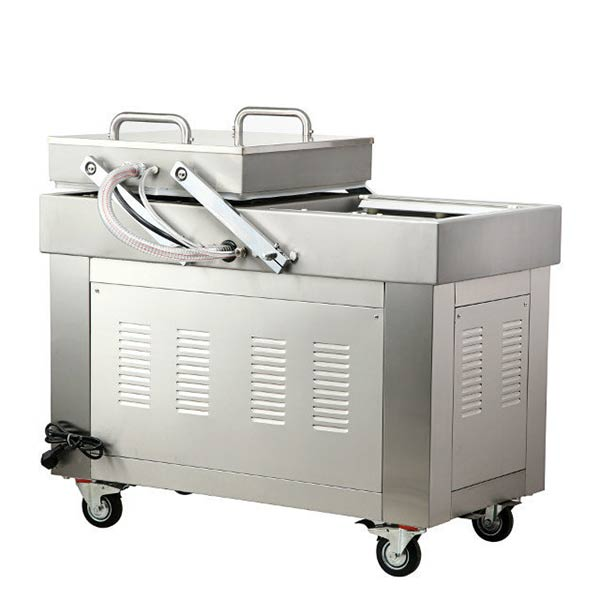 Double chamber vacuum packing machine for sale DZ600/2SB