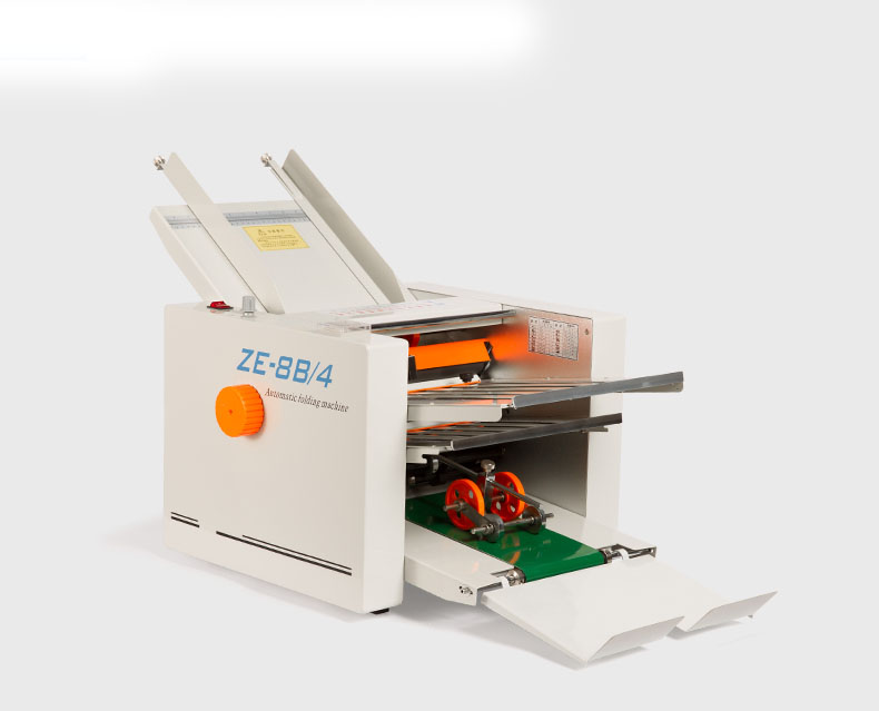 A3 size desktop paper folding machine automatic