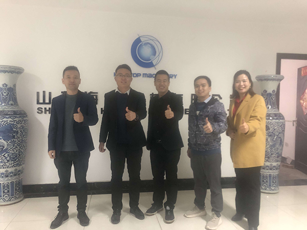 Deputy General Manager of Alibaba Northern Region visited Hightop Group